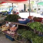 Sur le marché d'Iskele à Urla