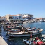 Sur le port d'Iskele, Urla