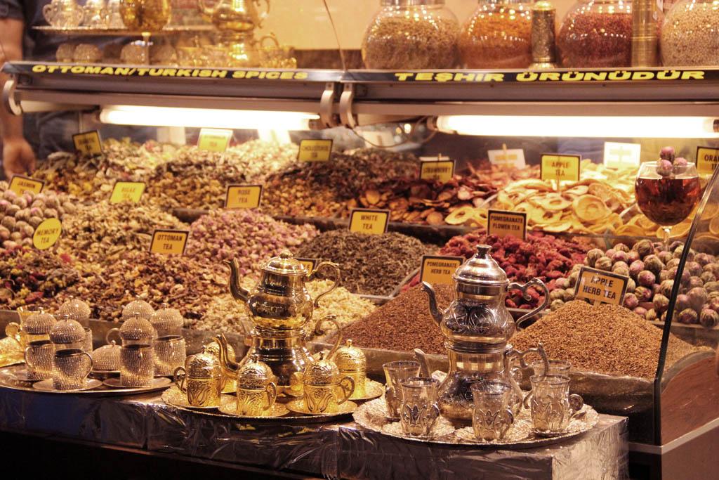 Au bazar égyptien d'Istanbul