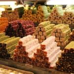 Douceurs au bazar égyptien d'Istanbul