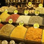 Epices au bazar égyptien d'Istanbul