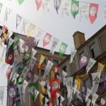 Fanions colorés à Osmanbey