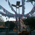 Fanions de toutes sortes à Harbiye