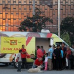 Place de Taksim durant le mois de Ramadan