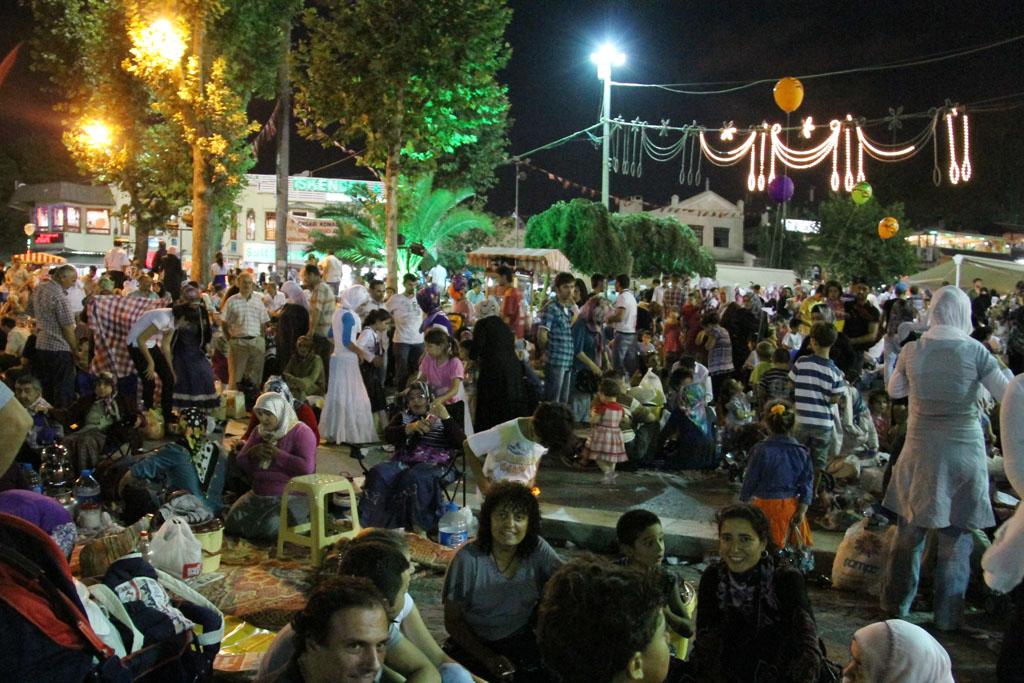 Soir de Ramadan à Eyüp