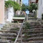 Escaliers typiques de Marmara