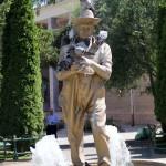 Une des innombrables statues d'Eskişehir