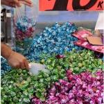 Bonbons destinés à la fête du sucre