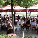 Café Pierre Loti, premier jour de la fête du Ramadan