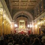 Cathédrale du Saint-Esprit à Istanbul le 24 décembre