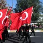Défilé pour la fête de la République à Istanbul