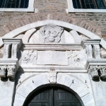 Détail porte de l'église arménienne de Sivrihisar