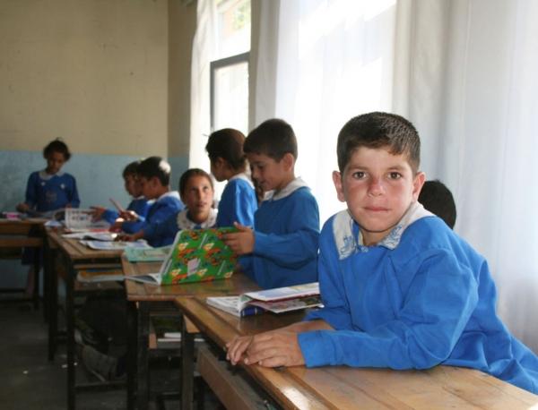 Dans une école du sud-est de la Turquie