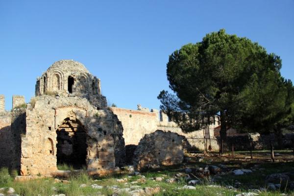Eglise byzantine de la forteresse d'Alanya