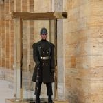 Gardien du mausolée d'Atatürk