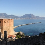 La tour rouge d'Alanya