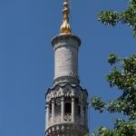 Minaret de la mosquée Küçük Mecidiye à Istanbul