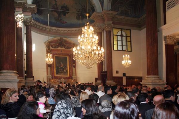 Pâques à l'Eglise Notre Dame du Rosaire de Bakırköy, Istanbul