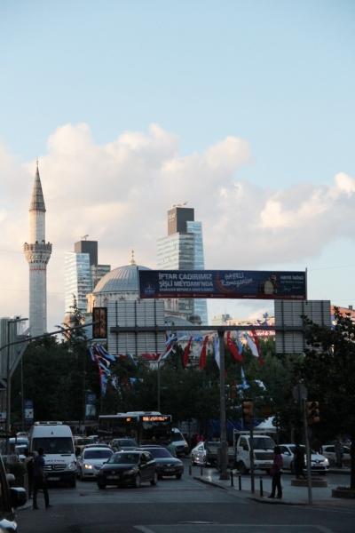 Près de la mosquée de Şişli