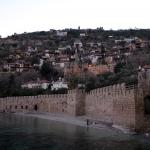 Quartier au-dessus de l'arsenal de la forteresse d'Alanya