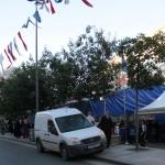 Tente d'iftar à Şişli