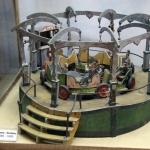 Vieux manège de 1880-90, musée du jouet Antalya