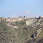 Vue générale sur l'Acropole de Pergame
