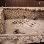 Une des tombes royales hitites, musée de Çorum