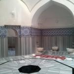 Dans le hammam Murat II d'Iznik