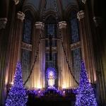Décor de Noel, église St-Antoine Istanbul