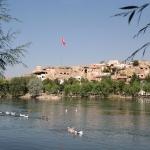 Avanos au bord du fleuve Kızılırmak