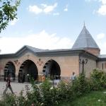 Bâtisse abritant le tombeau de Haci Bektaş veli efendi
