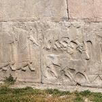 Détail de la porte des sphinx, Alaca Höyük