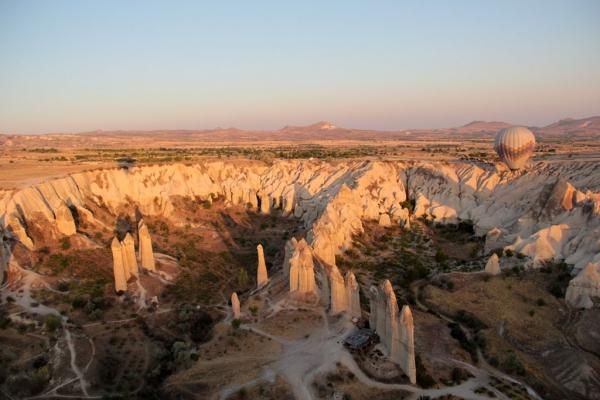 Vallée de l'Amour en Cappadoce