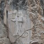 Détail bas-relief de Yazılıkaya