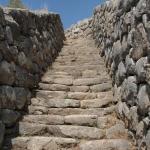 Escalier monumental - site de Hattuşa