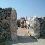 Porte des Sphynx sur le site de Hattuşa
