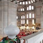 Dans la mosquée de Fatih