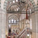 Minbar de la mosquée de Fatih à Istanbul