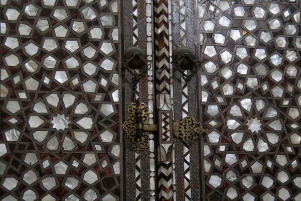 Porte en incrustation de nacre, palais de Topkapı