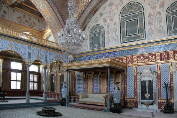 Salon impérial, harem de Topkapı