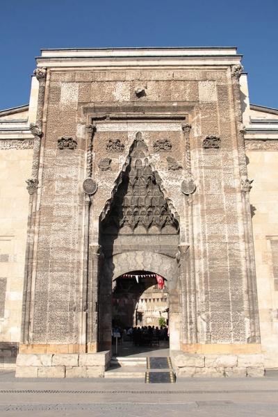 Portail de Bürüciye medresesi à Sivas