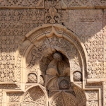 Une porte de la Grande Mosquée de Divriği