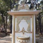 Fontaine dans le parc d'Emirgan