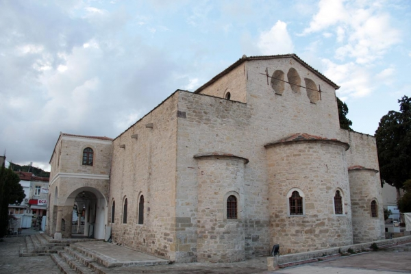 Ancienne église orthodoxe d'Alaçatı aujourd'hui mosquée