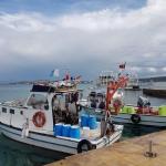 Bateaux de pêche amarrés à Ilıca