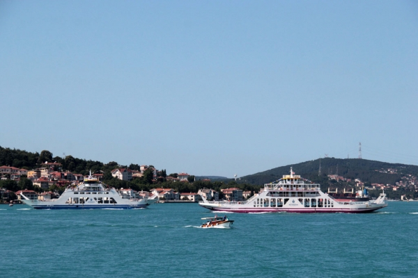 ferry boat d'Istanbul