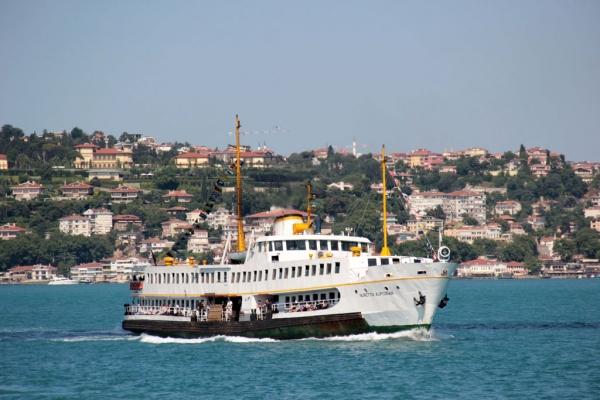 vapur traditionnel à Istanbul