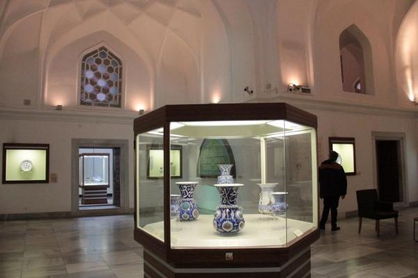 Intérieur Kiosque des Faïences du musée archéologique d'Istanbul