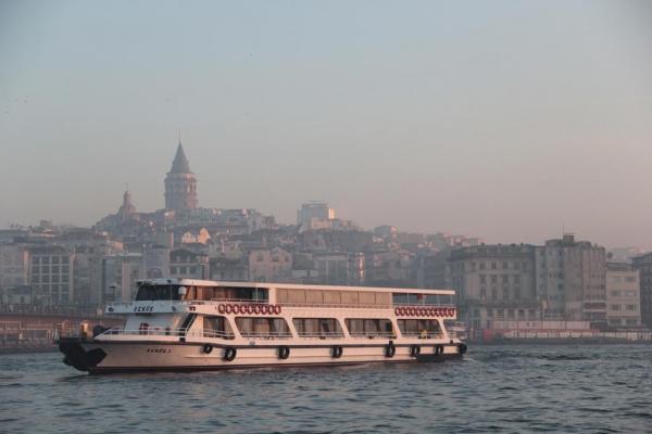 Traversée matinale à Istanbul